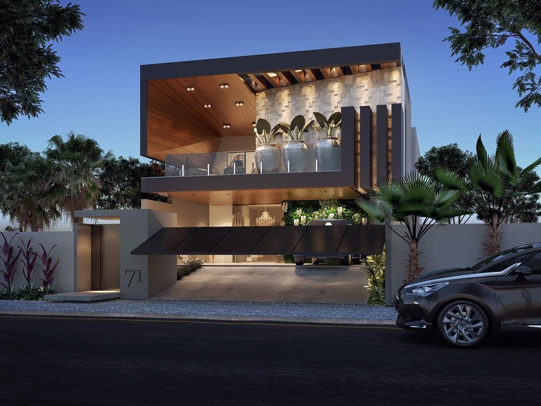 Sem Legenda Casas Modern House Design House Front
