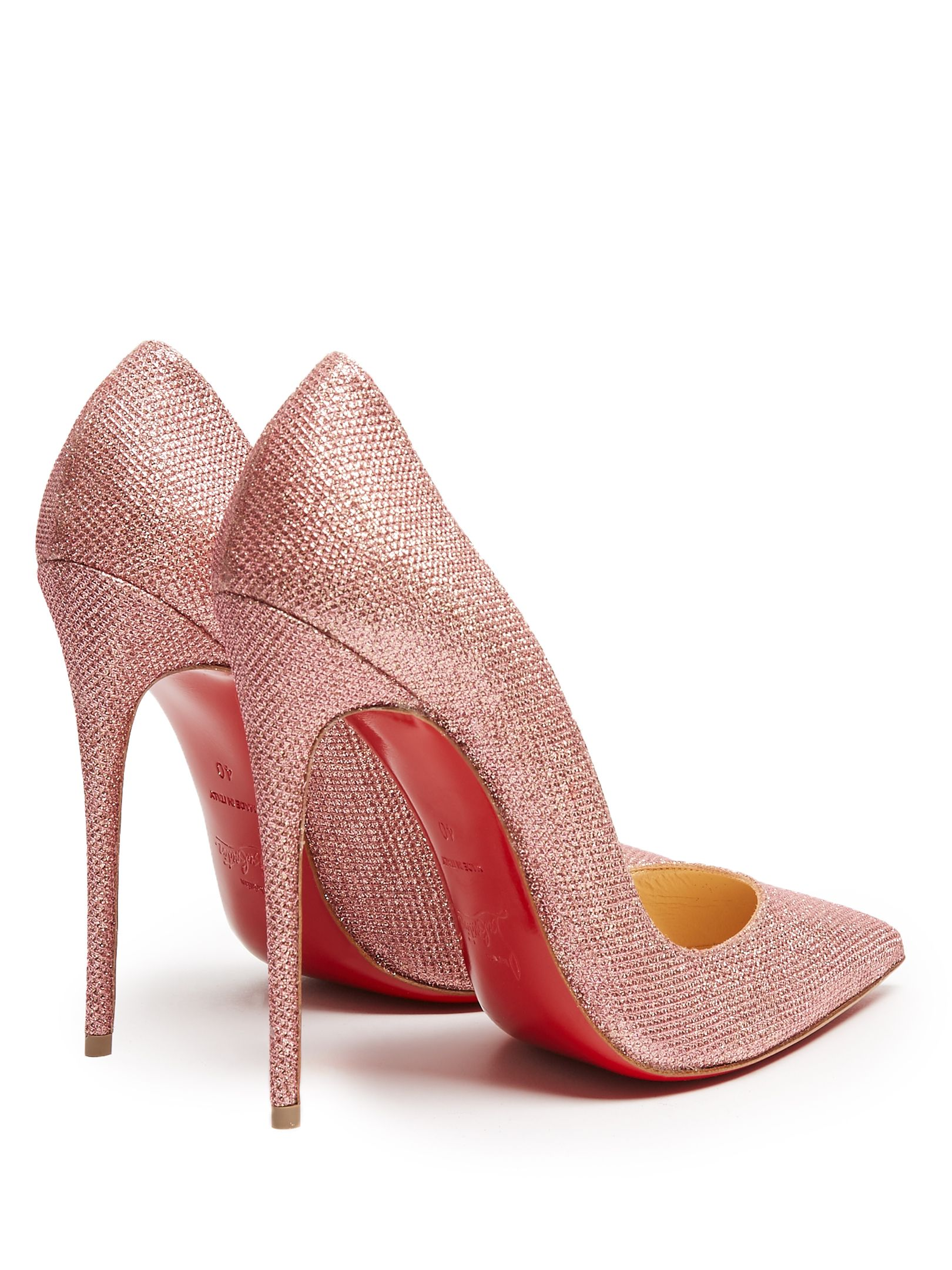 on sale d74b3 07306 CHRISTIAN LOUBOUTIN So Kate 120mm glitter pumps | Shoes ...