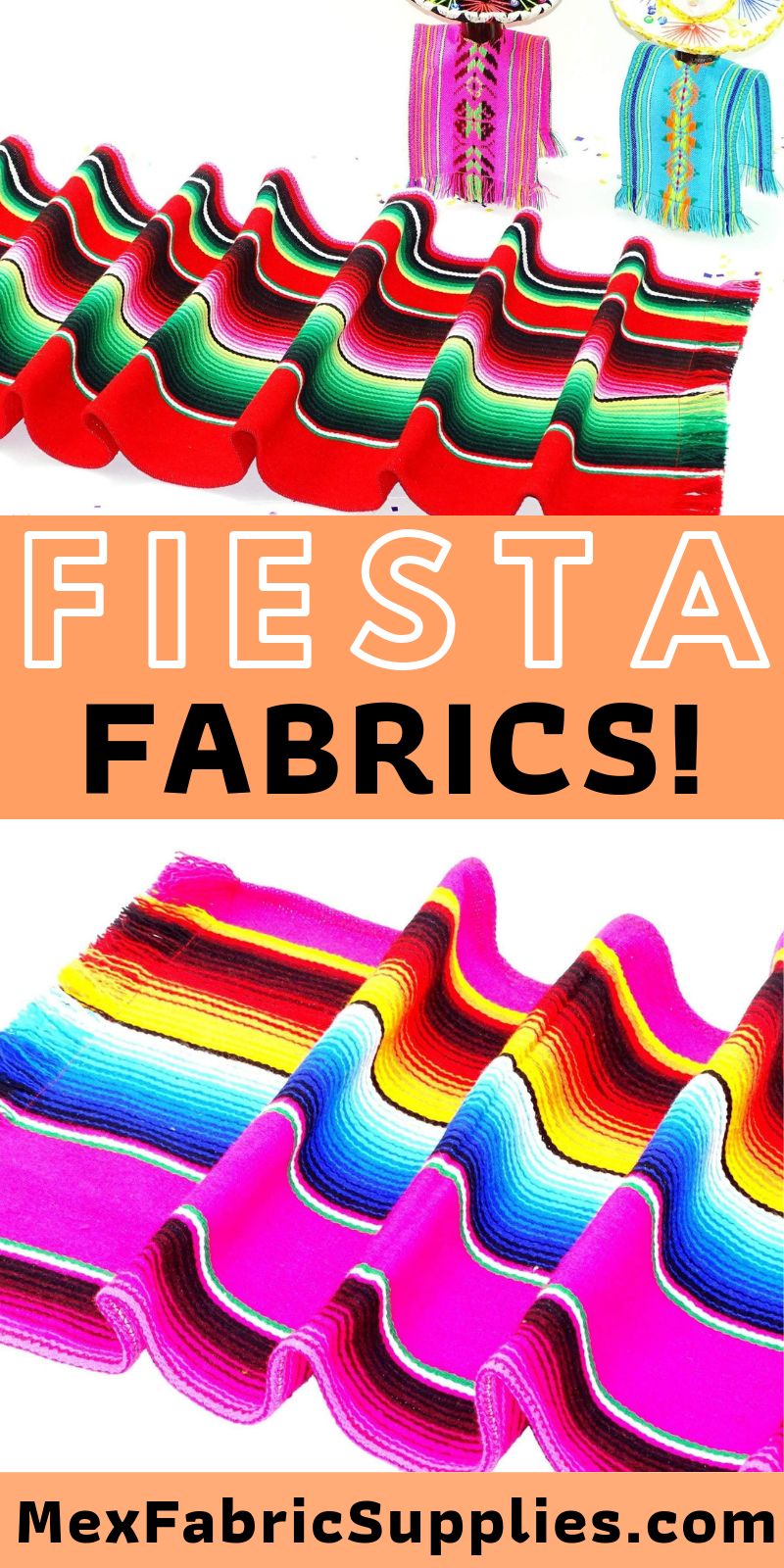 From Aztec Fabric To Striped Fabric We Have The Perfect Decorations For Your Next Fiesta Mexican Fiesta Fiestaid Mexican Fabric Aztec Fabric Serape Decor