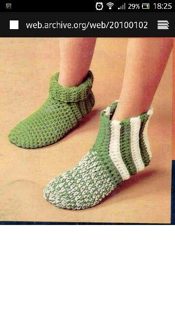 Sokken. Patroon in foon.   KANNAS   Pinterest   Crochet socks and ...