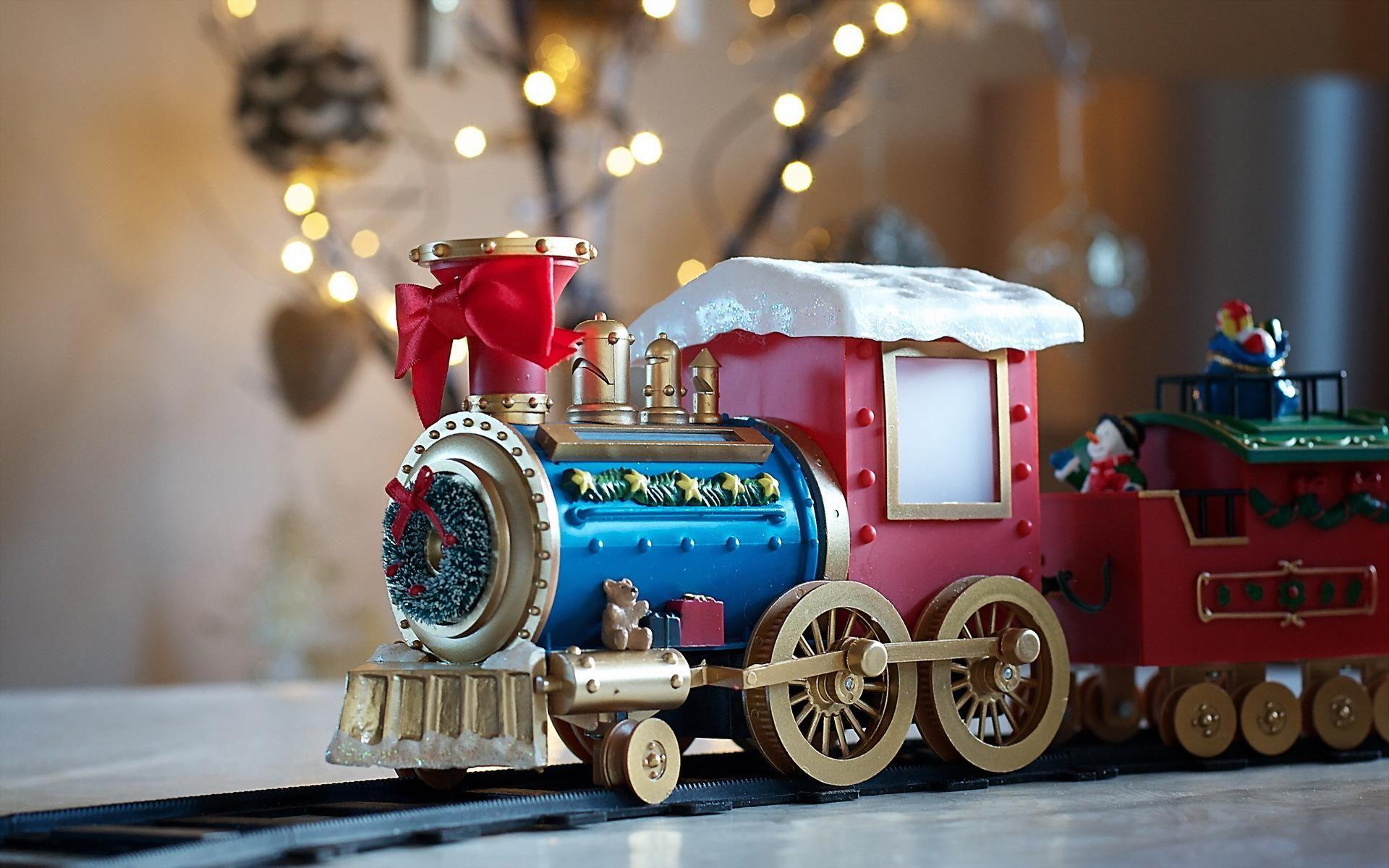 HD Christmas Toys Wallpaper