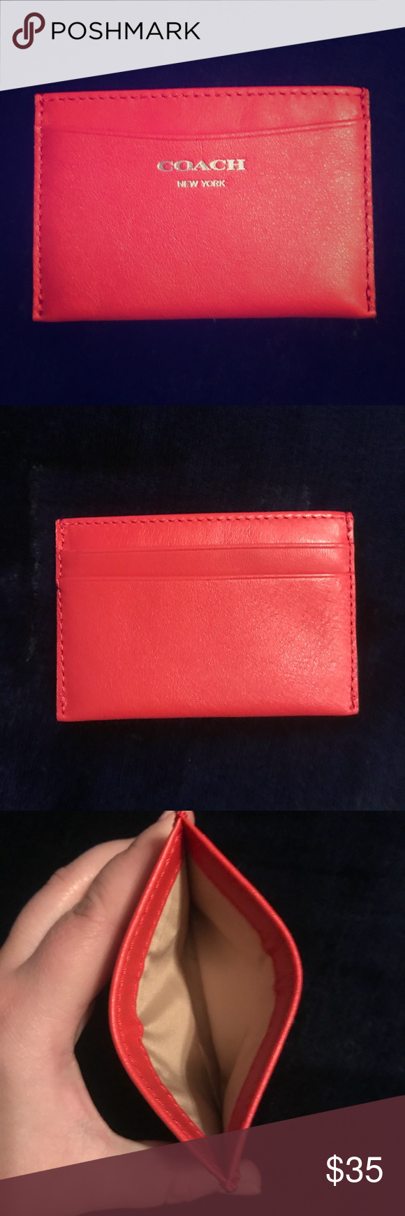 Red card folio | Coach bags, Conditioning and Bag