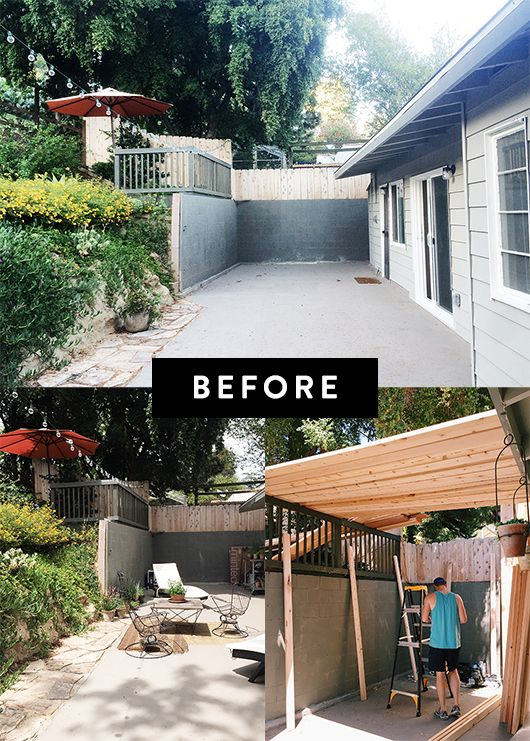Before And After Modern Backyard Makeover Sfbybay