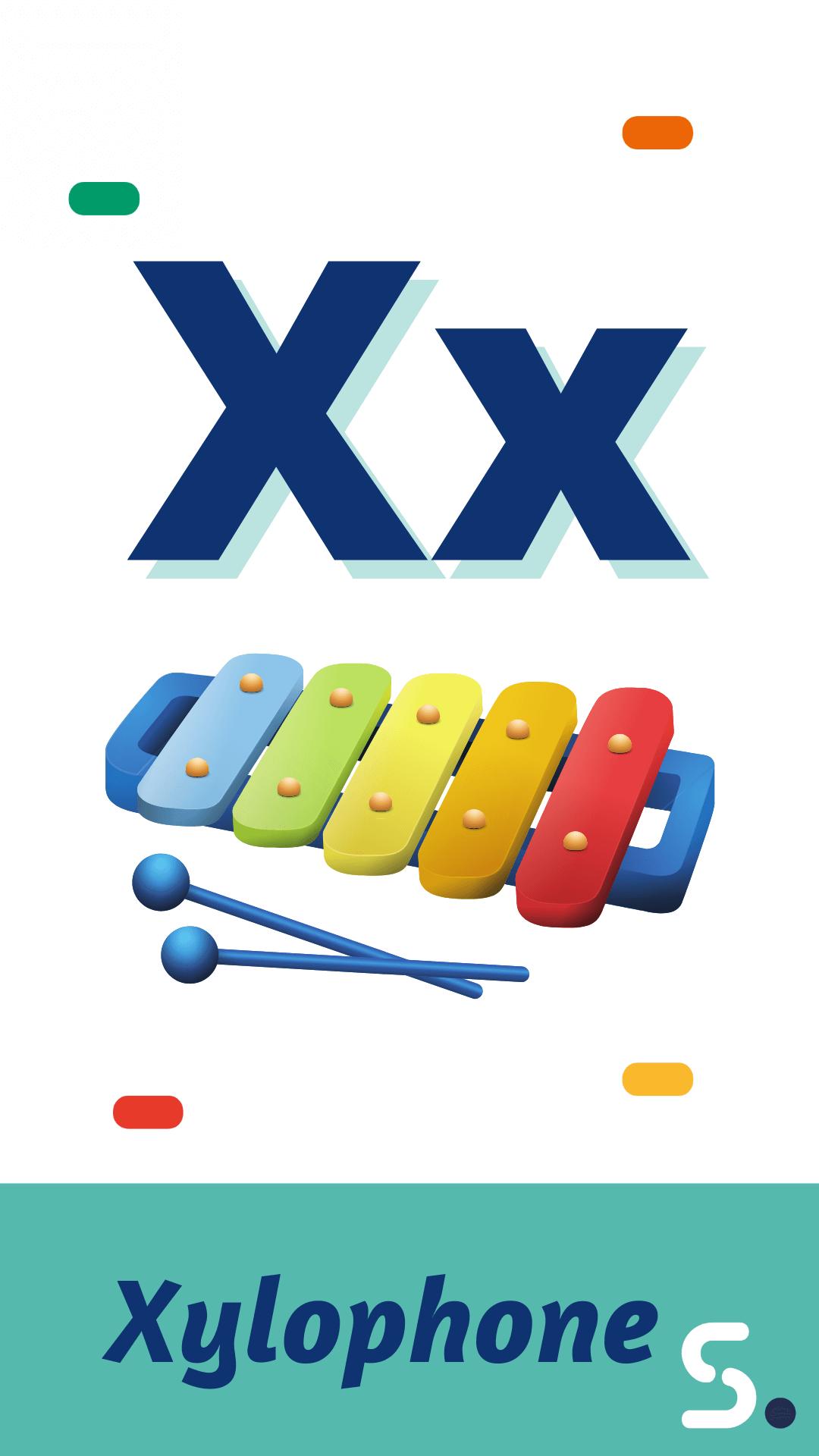 Palabra En Inglés Con X Actividades De Lectura Letras Del Alfabeto Alfabeto