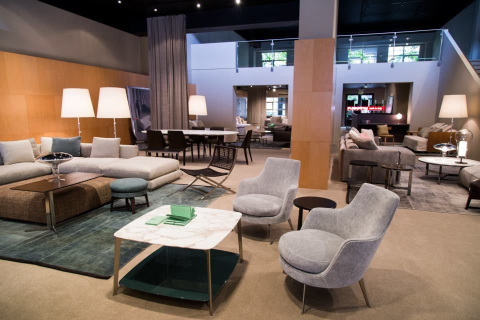 Attractive Flexform Guscio Armchairs In Our San Francisco Showroom | #interior #design  #furniture # Great Ideas