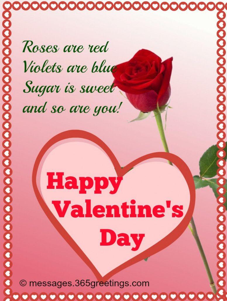 Valentine Flower Card 2020
