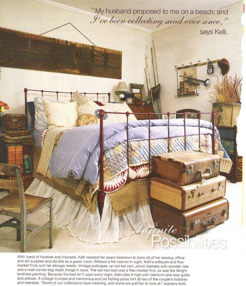 Inspiration Friday Cozy Bedrooms Bedroom Decor Suitcase Decor