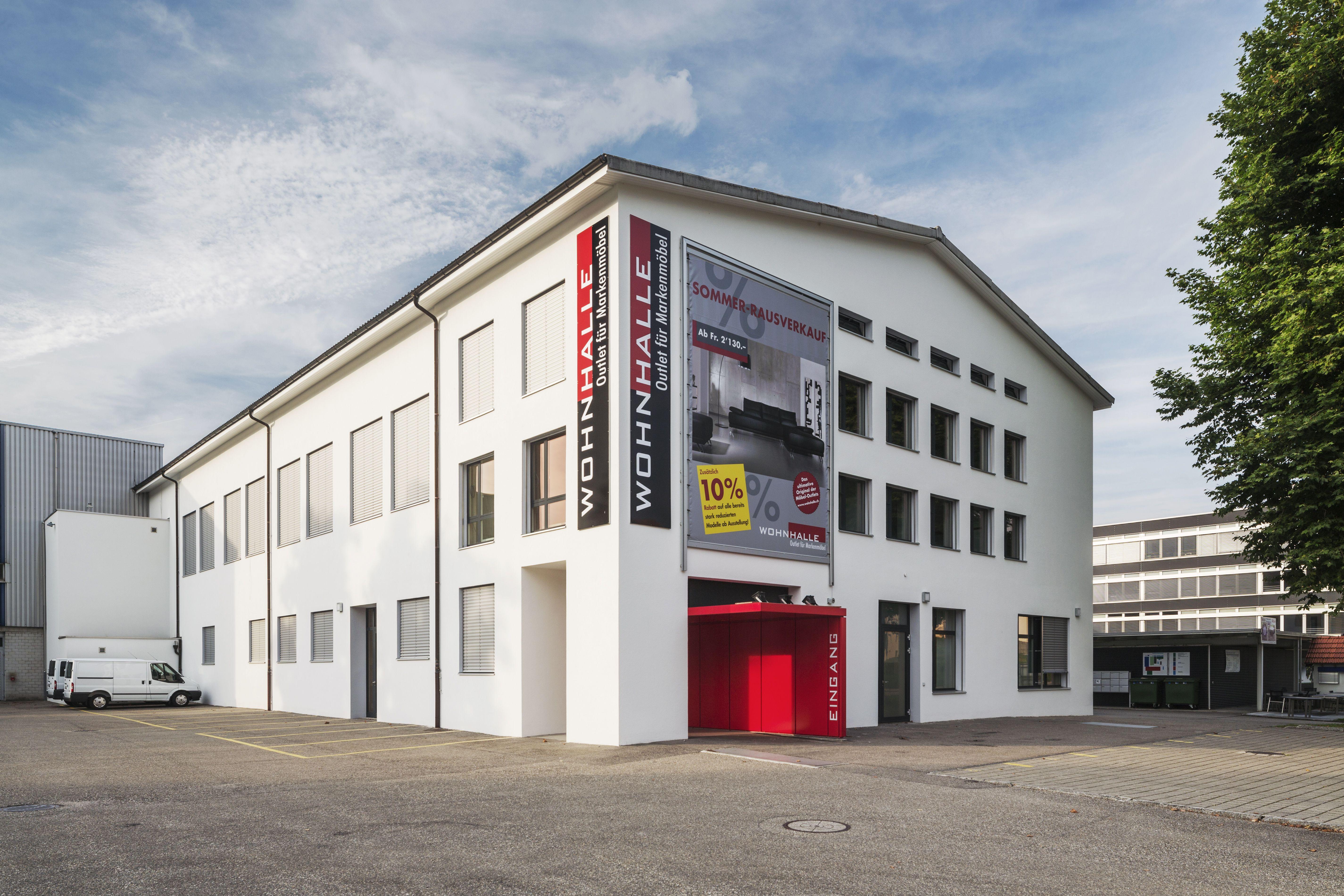 Wohnhalle Striegelstrasse 8, Safenwil Umbau Halle, Fassadensanierung ...