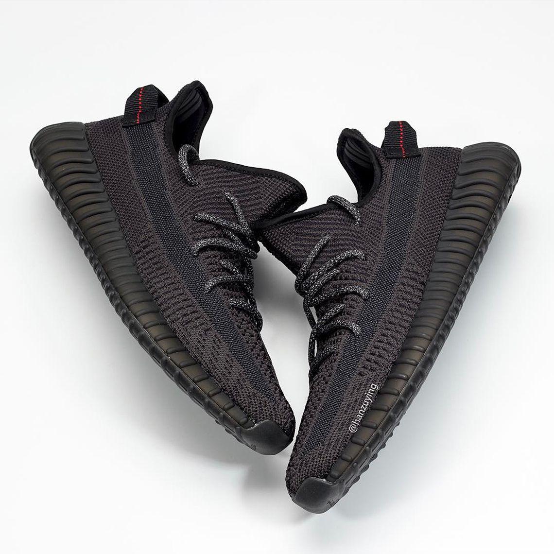 adidas Yeezy 350 v2 Black - Release