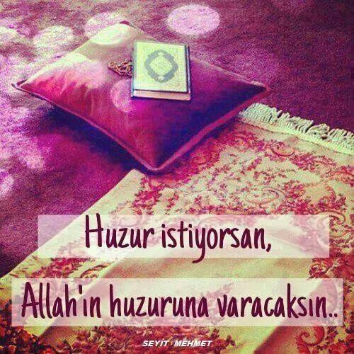 Huzur Namazda Resimler Dualar Islam