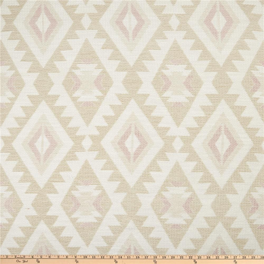 Tacking Fabric On A Accent Wall: Home Accent Bonanza Jacquard Adobe