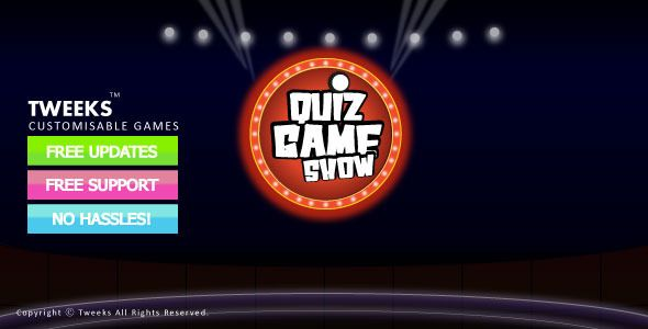 Activeden  Xml Quiz Show Game Free Download  Flash Template All