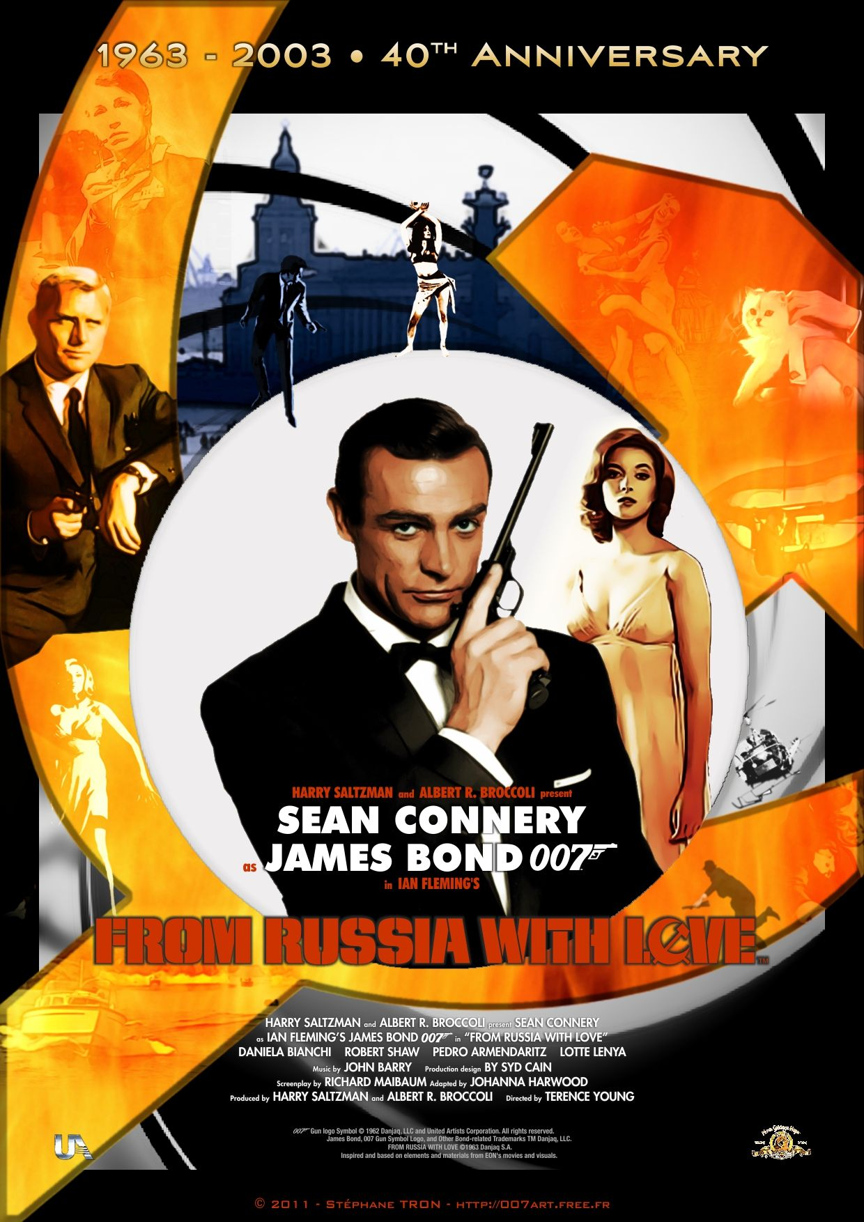 From Russia With Love 1963 Movie Poster Https Www Youtube Com