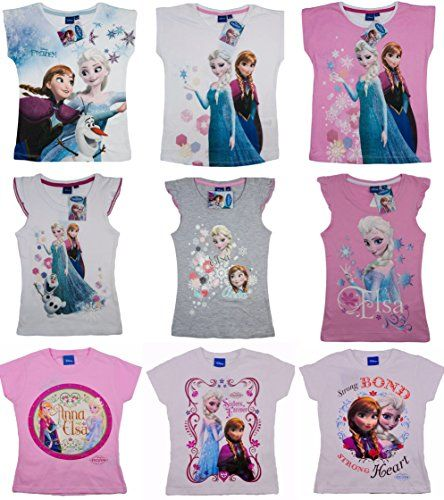 Official Disney Frozen T-Shirt | Frozen Short Sleeve Top | From Ages 3 to 10 Years (7-8 years, Design 6) Disney http://www.amazon.co.uk/dp/B00TBTTYJE/ref=cm_sw_r_pi_dp_qy2bvb1FGEA3J