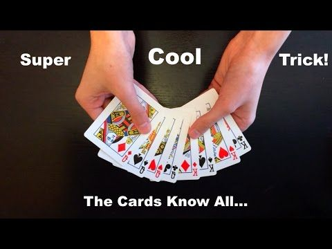 Think Of A Card Amazing Easy Card Trick Revealed Easy Card Tricks Card Tricks Revealed Card Tricks