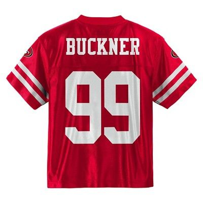 4fa5b1c05 San Francisco 49ers Baby Boys  DeForest Buckner Jersey - Team Color ...