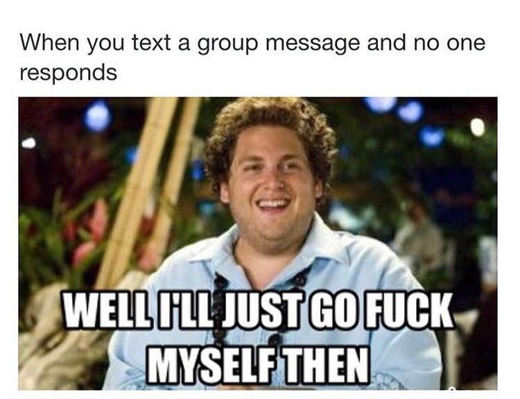 24f7c486c4bc1a64d845461715990d09 group chat funny group chat pinterest meme