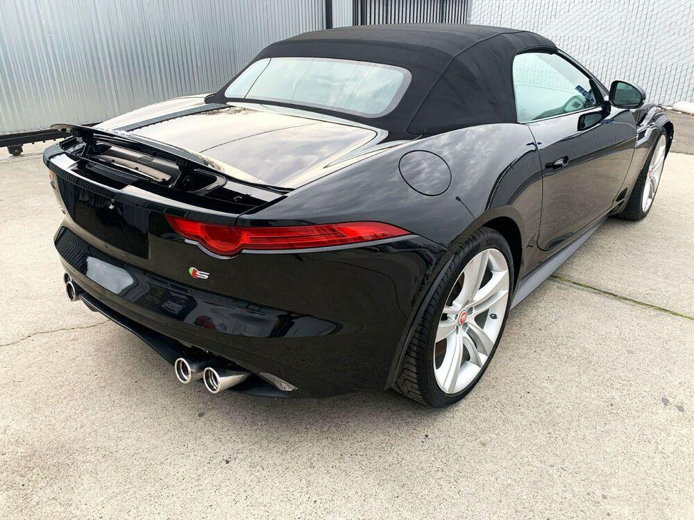 2015 Jaguar FType SUPERCHARGED STYPE 5.0 L/305 V8 495HP