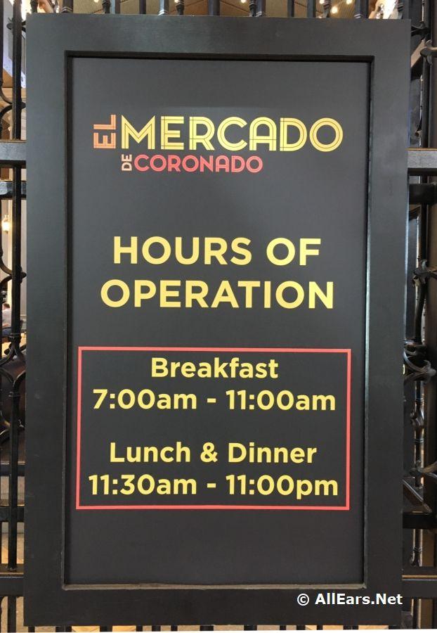 Pepper Market at Coronado Springs Transforms into El Mercado de Coronado | Disneys coronado springs. Disney menus. Disney restaurants
