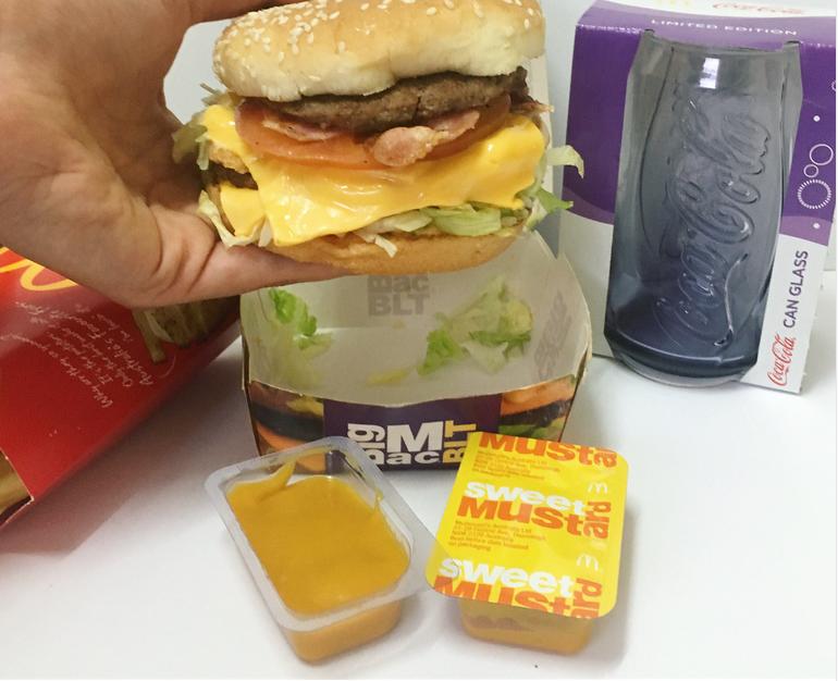 New McDonald's Aussie Summer Limited Edition BLT Burger_-2 100% Aussie Beef  Patties,