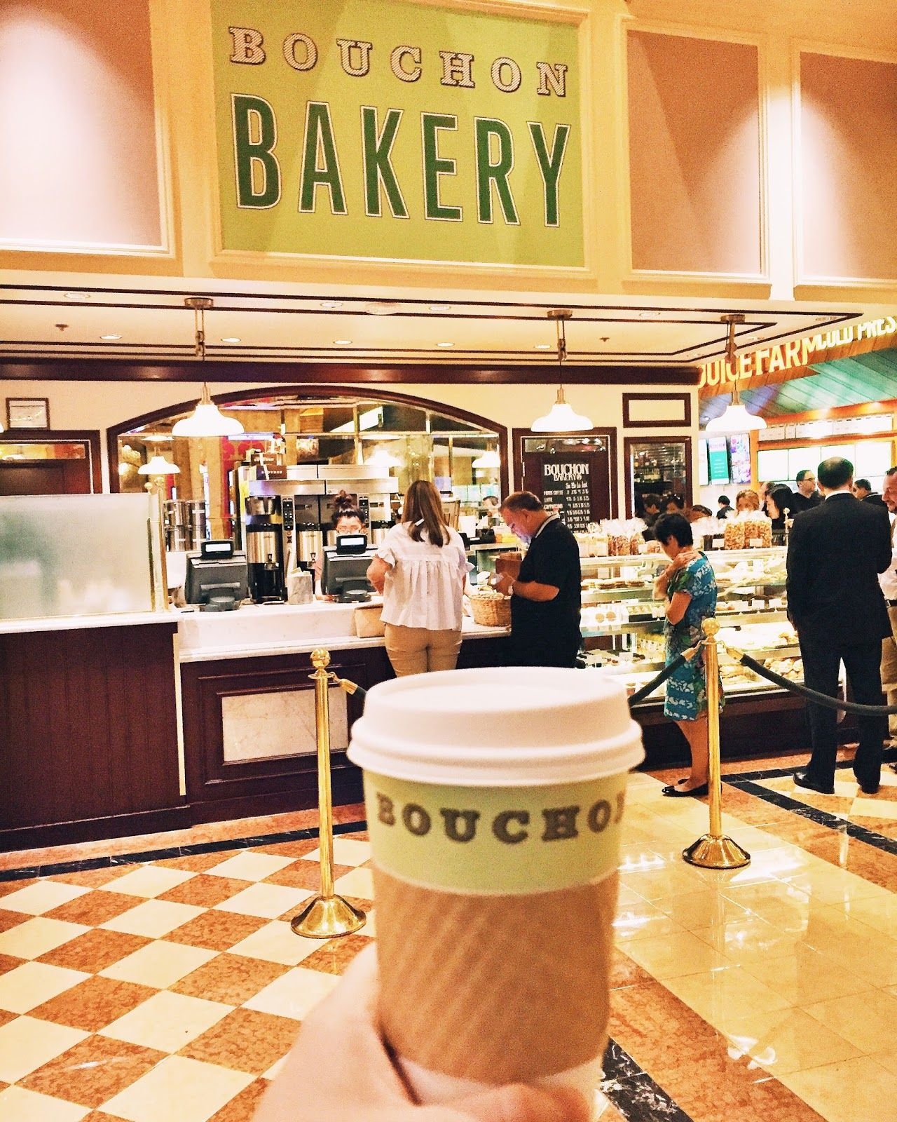 Bouchon bakery at the las vegas with images