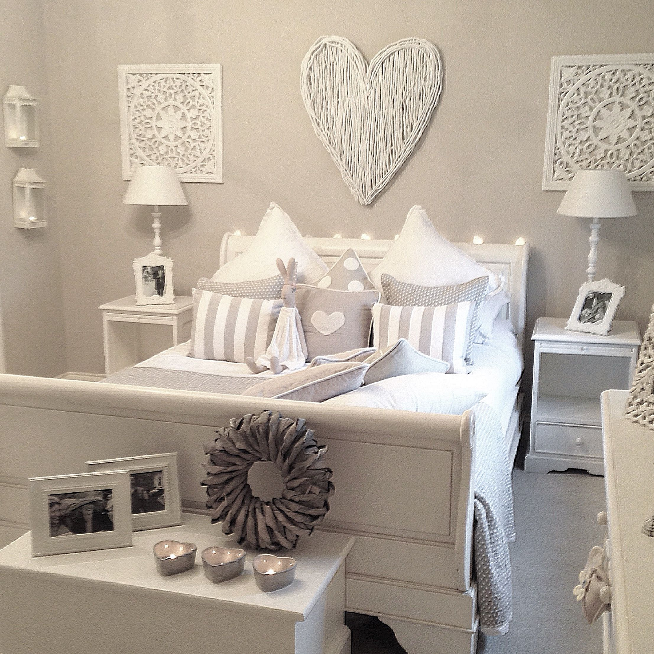 Grey Walls, White Furniture