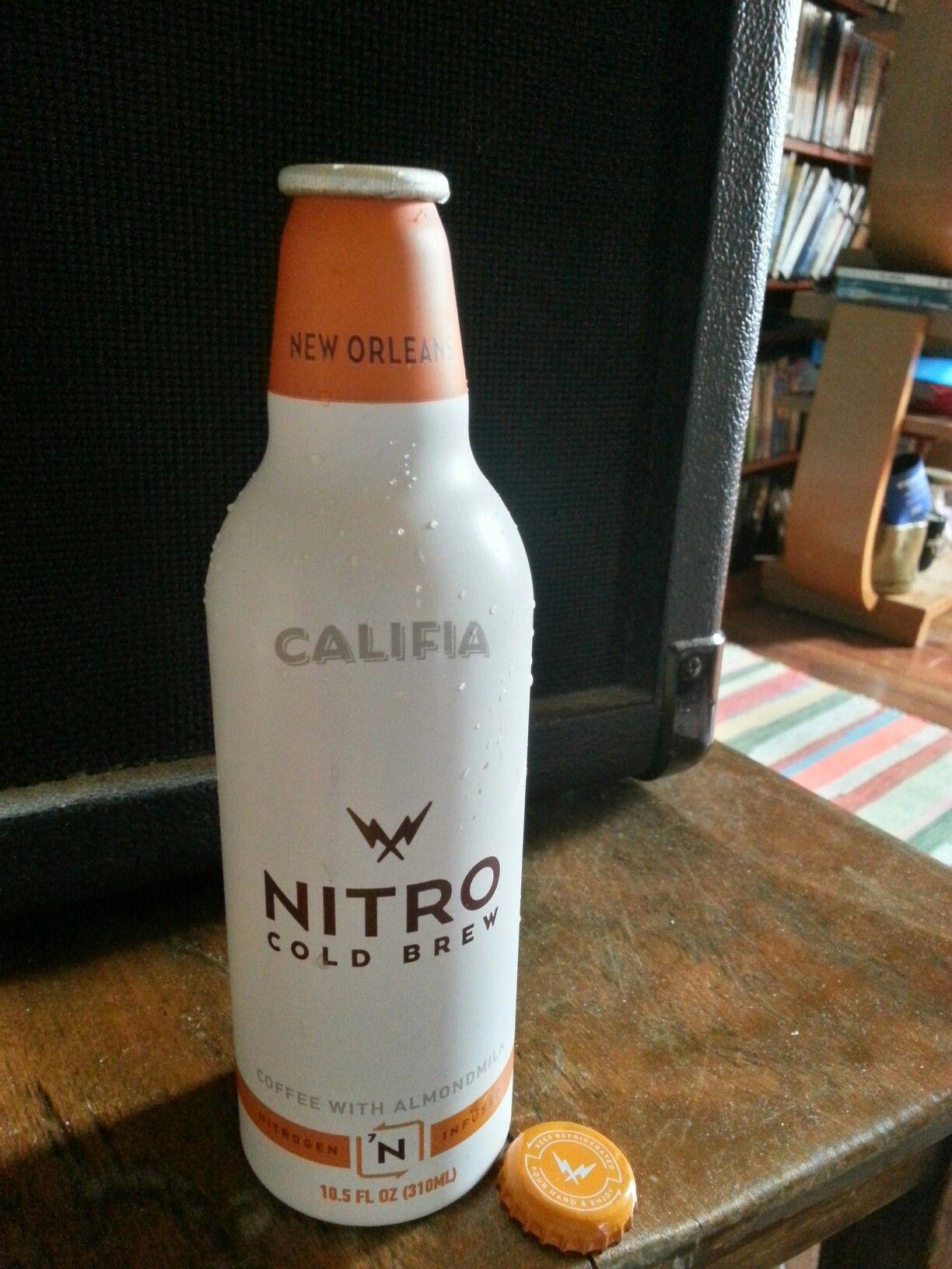 Califa Farms, nitro cold brew bottle, Bakersfield, CA, USA