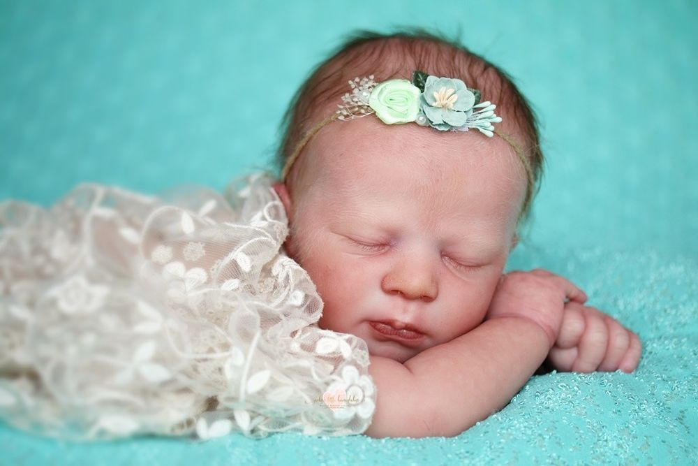 "19/"" Reborn Doll Parts Kit DIY Realborn® Madison Sleeping"