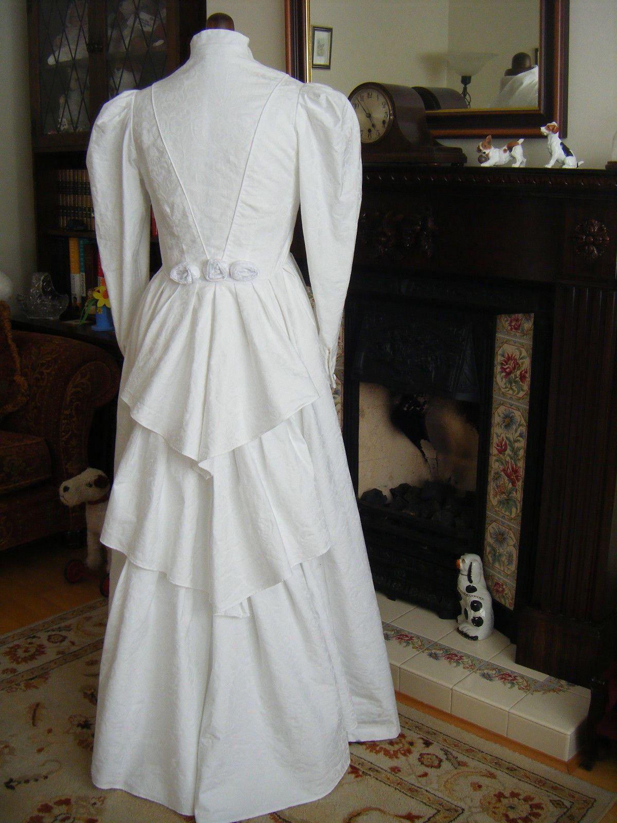 LAURA ASHLEY VINTAGE 1980s' VICTORIAN WEDDING DRESS FINAL