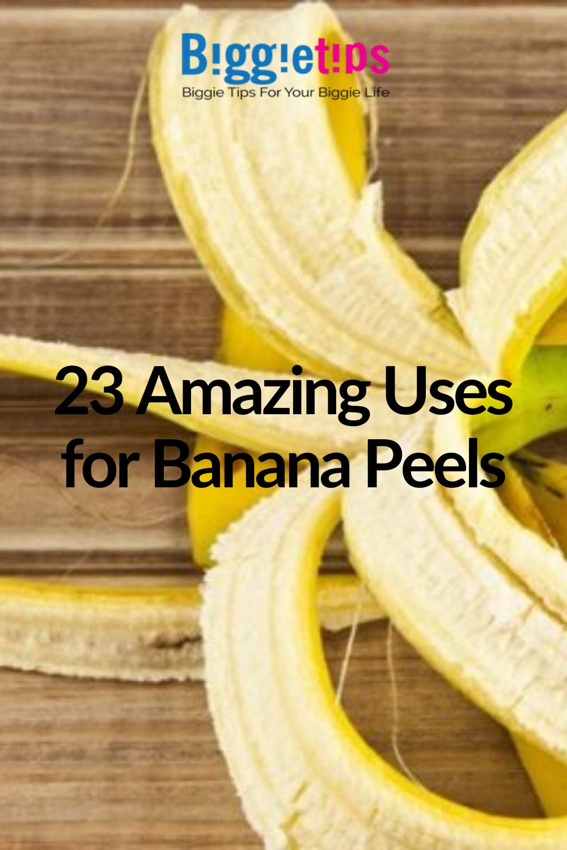 23 Surprising Uses For Banana Peels In 2020 Banana Banana Peel Banana Peel Uses