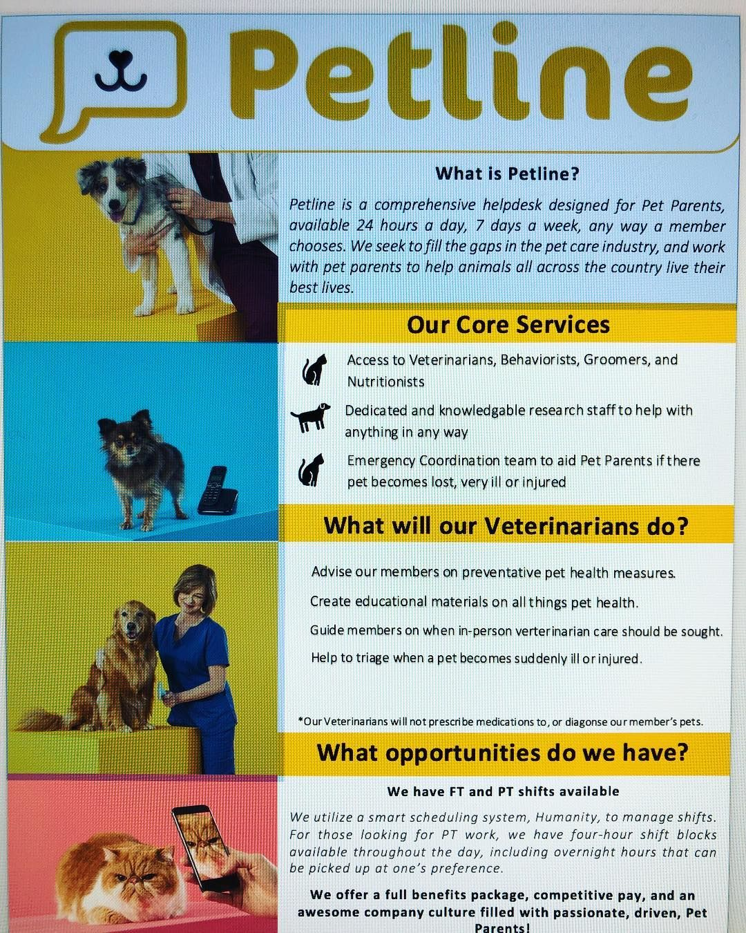 Please Share With All Your Pet Networks And Veterinarian Friends Email Dani Marrero Petline Com For More Info Petcare Petpros V Pet Care Pet Parent Pets
