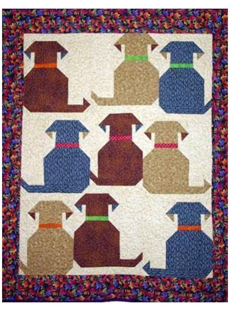 Dog Quilt Patterns : quilt, patterns, Waggly, Tails, Bluprint, #quilts, #ideas, #dogquiltsideas, Quilts,, Quilt,, Animal, Quilts