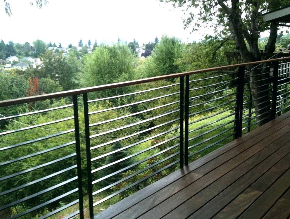 modern deck railing designs home design ideas   Railings ...