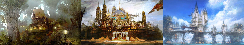 Final Fantasy 14 Dual Monitor Wallpaper