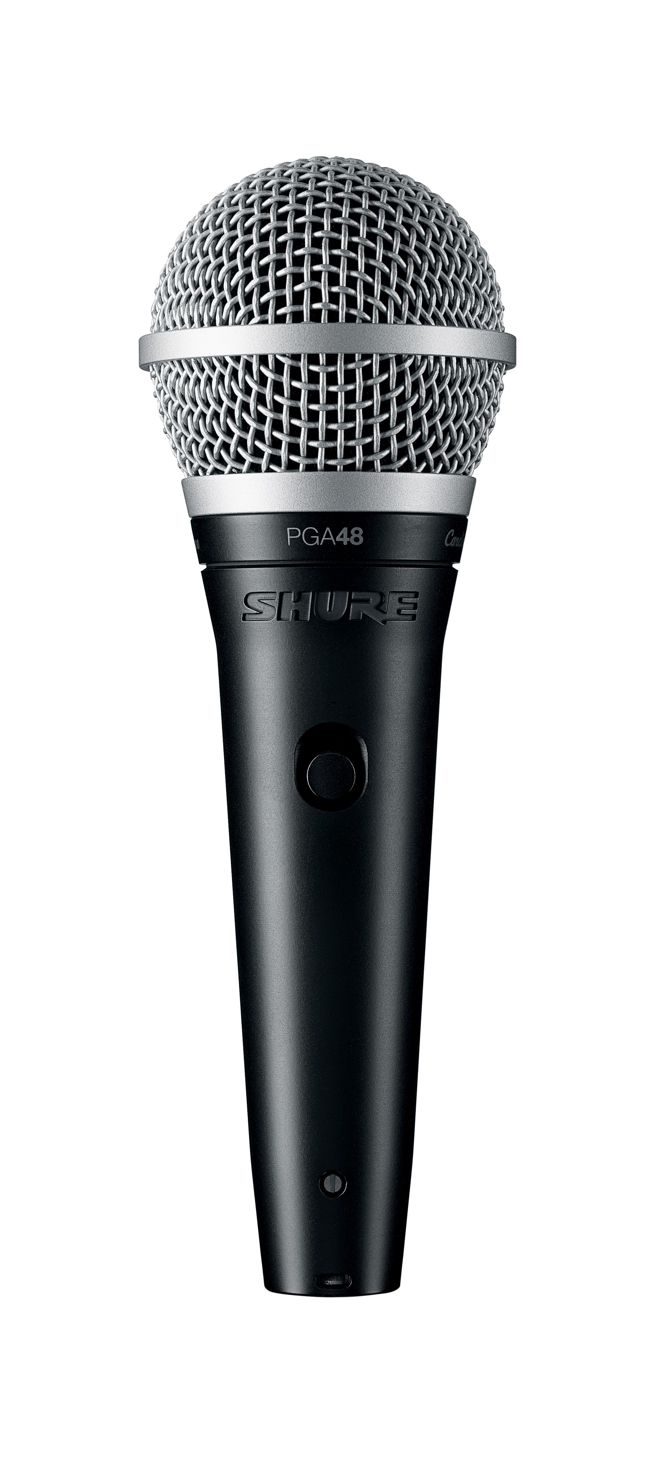 Shure PGA48 Cardioid dynamic vocal microphone With XLR