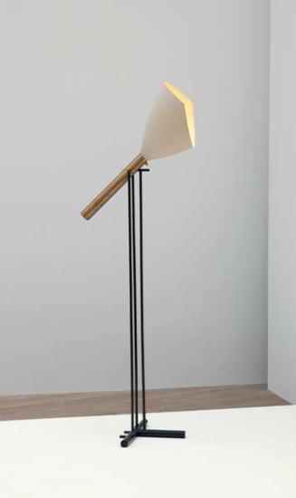 Floor Lamp, Manufactured by Arredoluce, Italy, 1950s Literature: Seconda Selettiva di Cantù, Design Di Cantù, exh. cat., 1957, p. 39