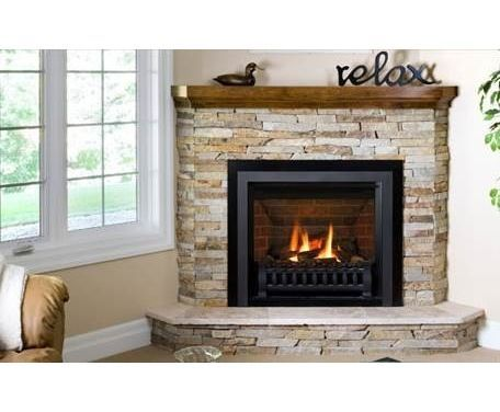 Corner electric fireplace and Mantle ideas