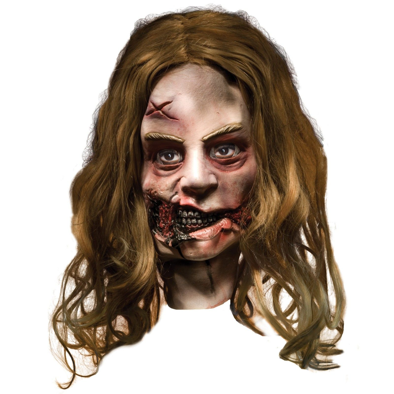 The Walking Dead - Little Girl Zombie Deluxe Mask (Adult) from ...