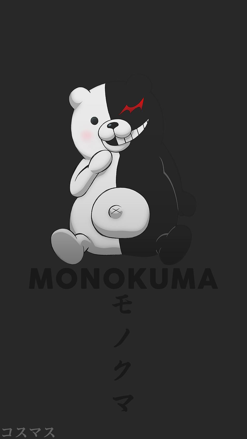 Monokuma ~ Korigengi | Wallpaper Anime