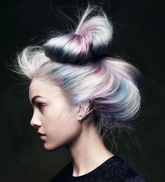 Opal Hair: The Latest Pastel Rainbow Hair Trend | Pastel ...