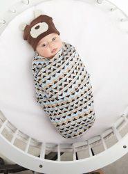 Bear Swaddle Blanket   Baby   Mud Pie