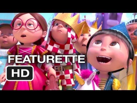 Despicable Me 2 Featurette Gru S Daughters They Re All Just Too Cute Steve Carell Despicable Me 2 Despicable Me
