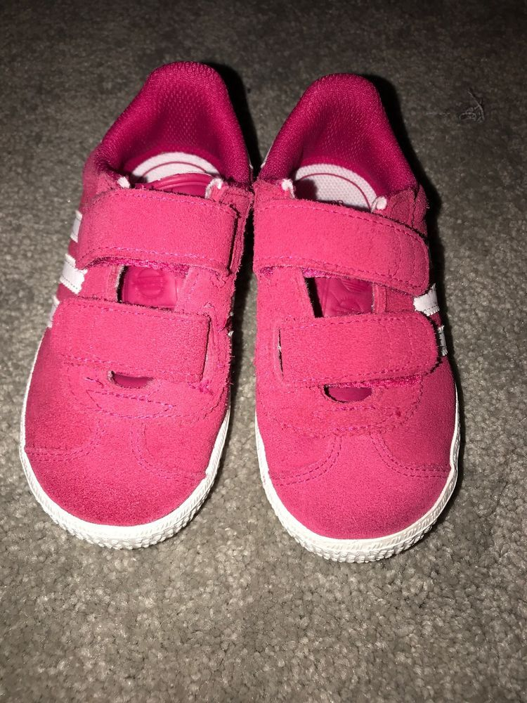 8bf01b5e95 Adidas Pink Girls Toddler Size 8K  fashion  clothing  shoes  accessories   kidsclothingshoesaccs  girlsshoes (ebay link)