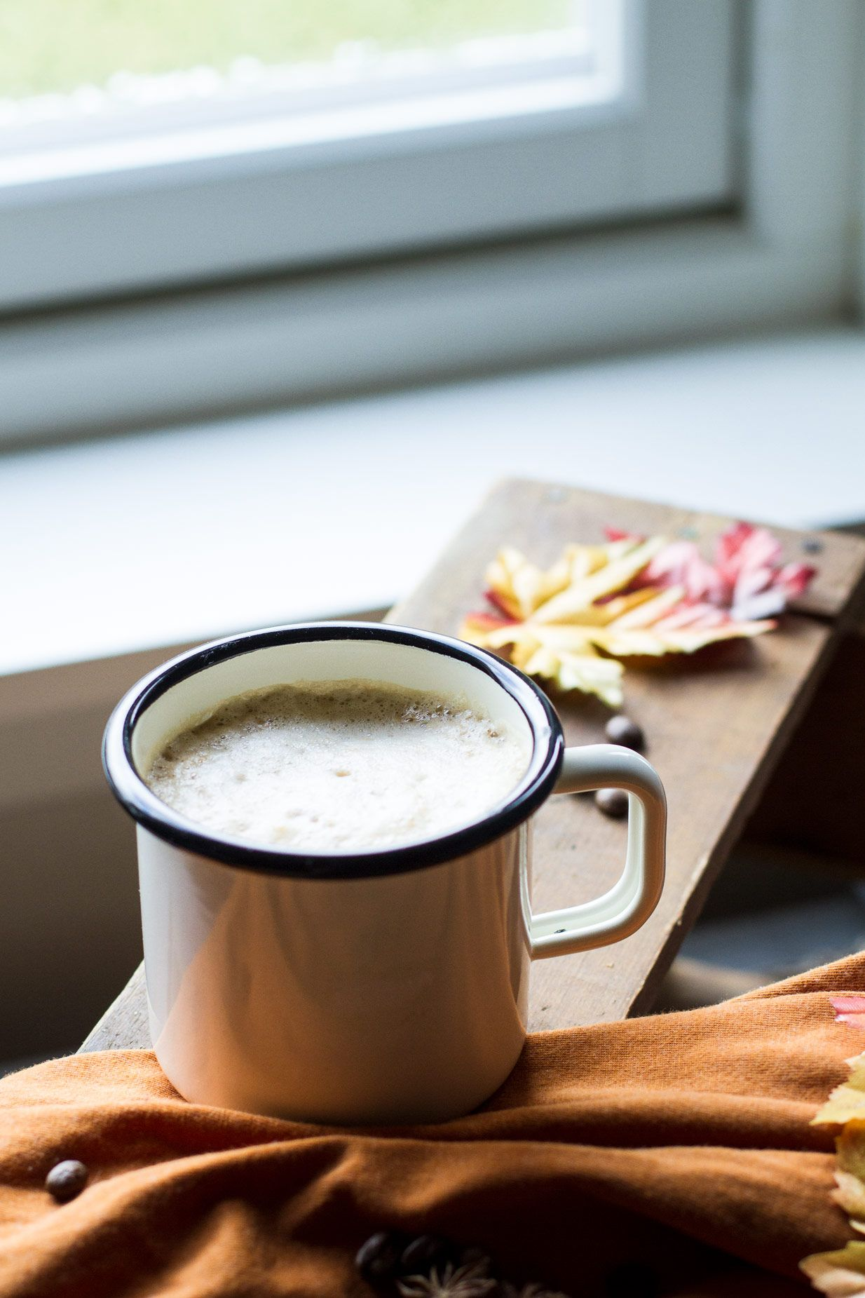 Easy Homemade Blender Pumpkin Spice Latte Recipe