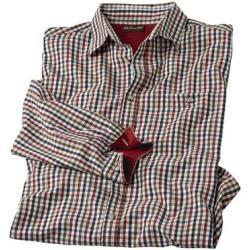 Photo of Vichy check atlas poplin shirt for men