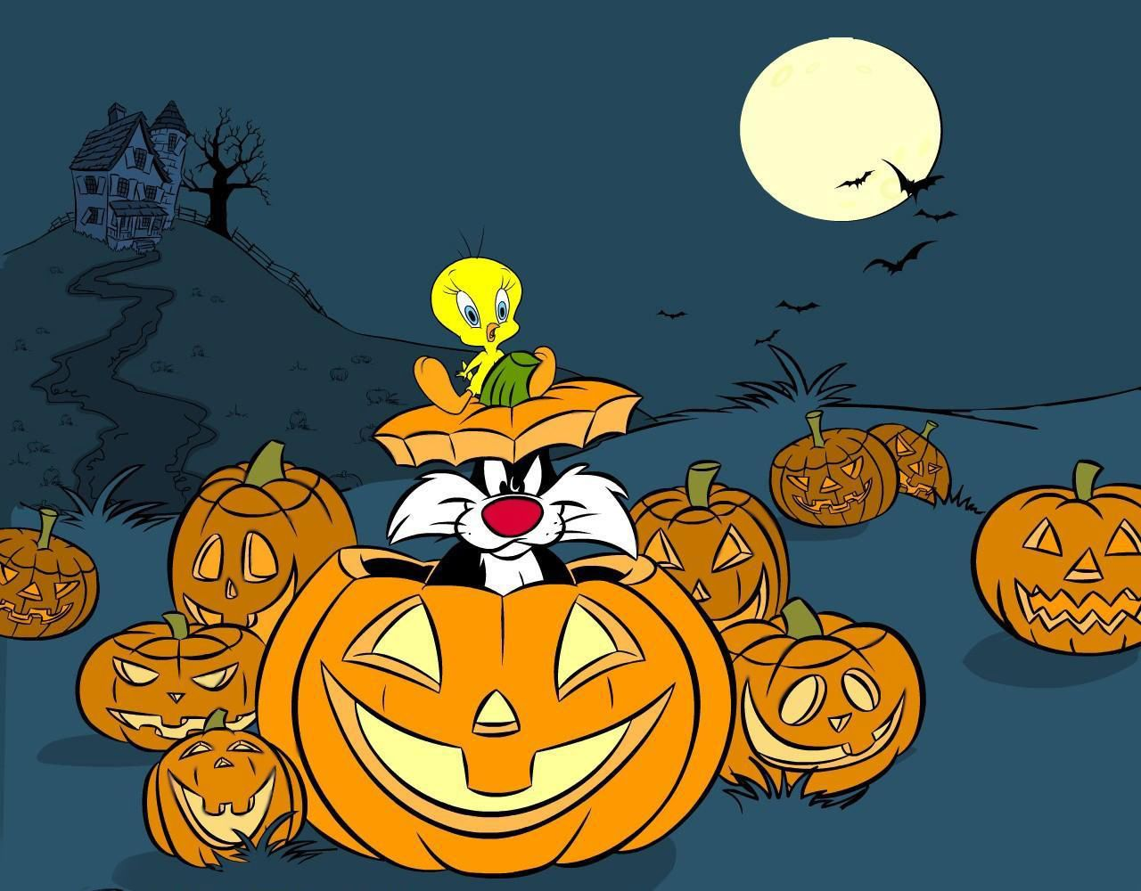 sylvester & tweety halloween | tweety bird • ❤ • | pinterest