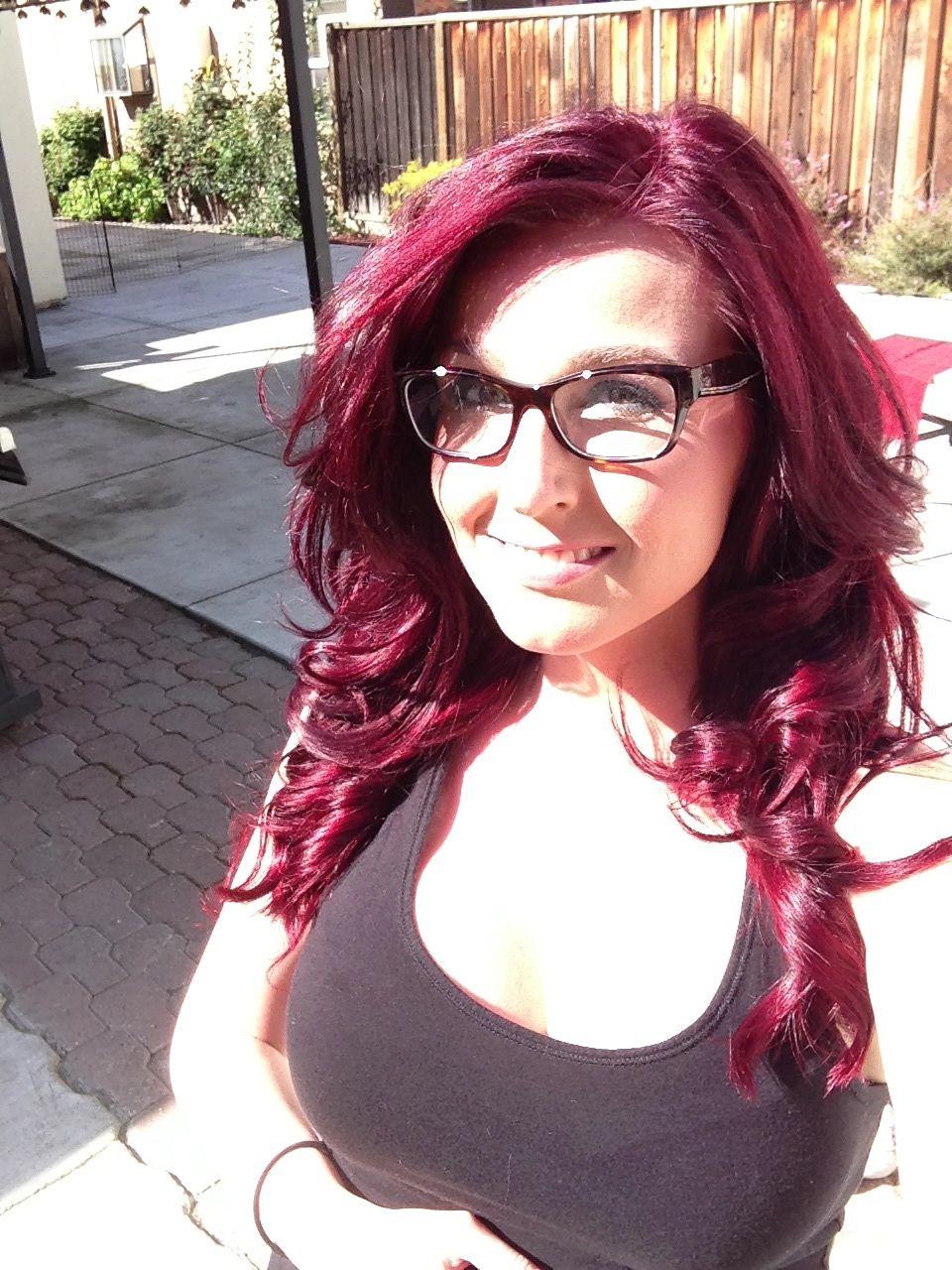 Pin By Susie Dent On Makeup Items Red Hair Woman Burgundy Hair Hair Affair