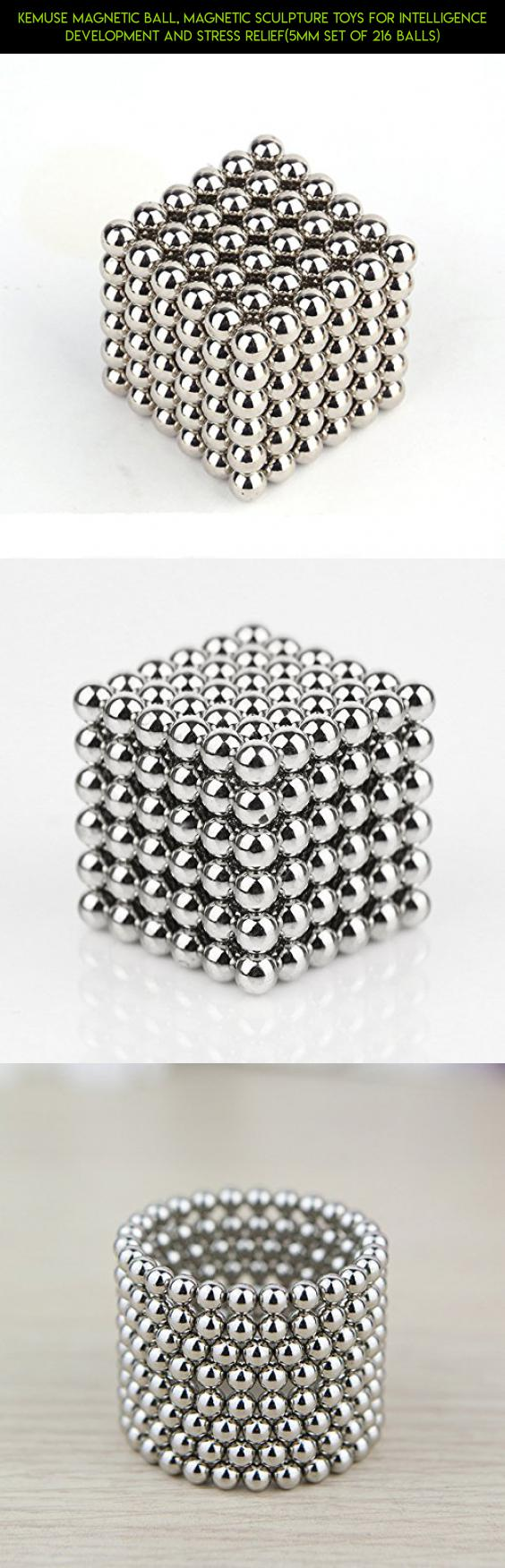5MM Set of 216 Balls 5mm-Multicolor Magnetic Sculpture Toys for Intelligence Development and Stress Relief Toys Magnetic Ball
