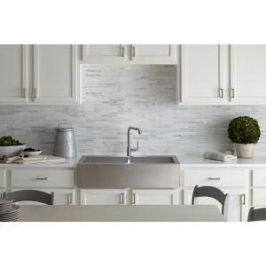 Kohler Vault Farmhouse Drop In Apron Front Self Trimming Stainless