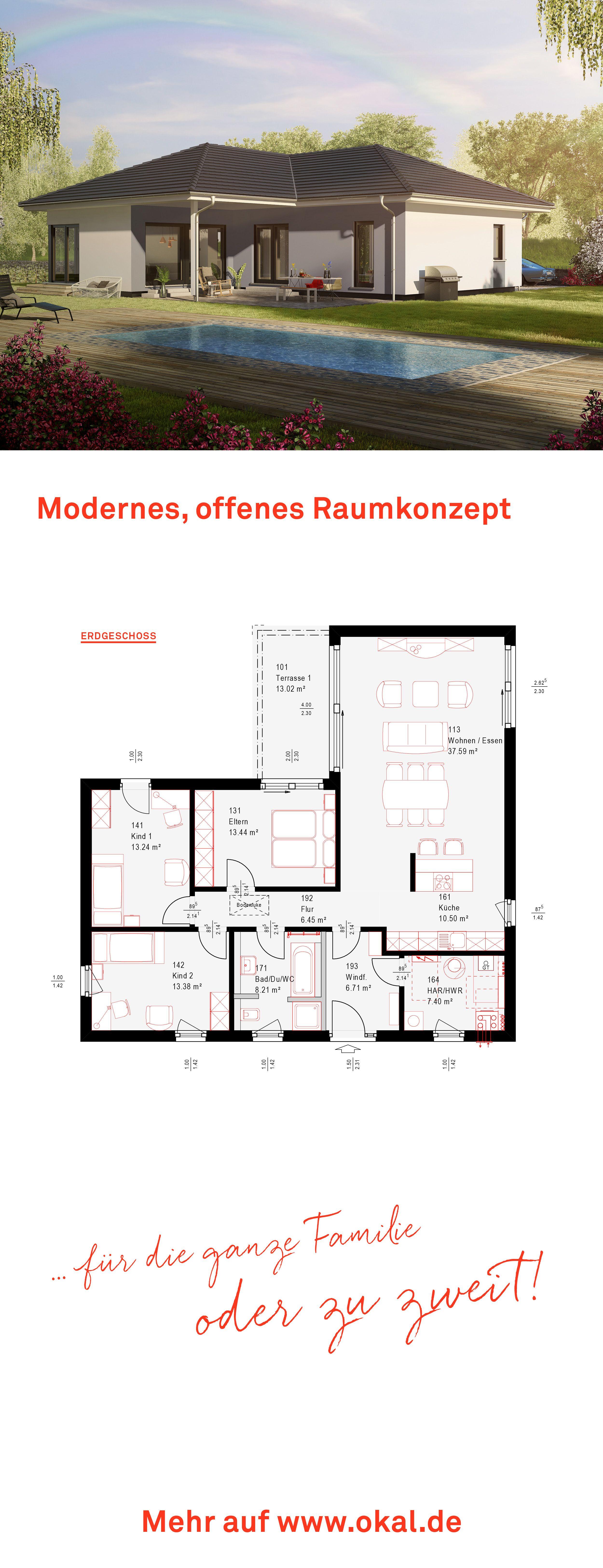 okalhaus architektur Bungalow Entdecken Sie unsere